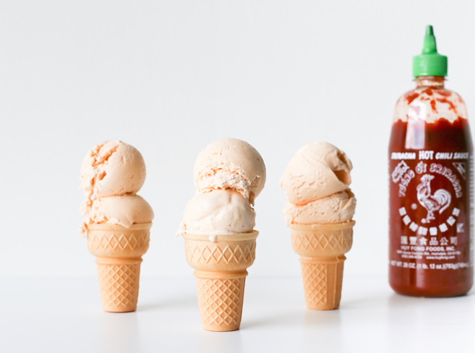 Inghetata Sriracha